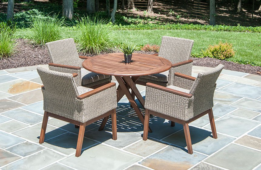 Jensen Leisure wicker & wood outdoor furniture